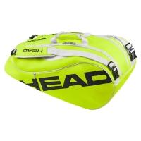 Raqueteira Head 9R Bola Amarela - Edição Limitada