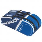 Raqueteira Head Core 6R Combi New - Azul