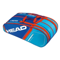 Raqueteira Head Core 9R Super Combi - Azul