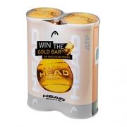 Pack 2 Tubos - Bola ATP Golden Ball