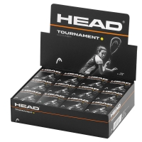 Caixa de Bola Head Squash Tournament - 12 Unidades